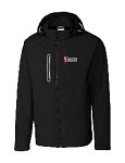 Men's Waterproof Black Rain Jacket